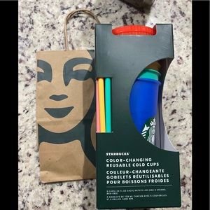 NWT limited Edition Starbucks Changing Cups